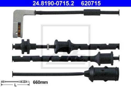 B-WARE //// ATE Warnkontakt Bremsbelagverschleiß Vorne für Opel Vectra B 1.6-2.0