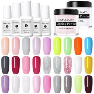 NICOLE-DIARY-10g-Dipping-Powder-Dip-System-Liquid-Nail-Art-Starter-Kit