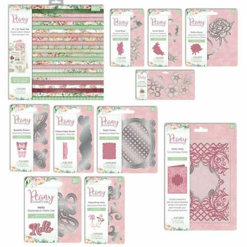 Cardmaking Peony Collection Crafters Companion Nature/'s Garden