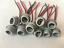 miniatuur 2 - 10XConnectors Socket Bulb Light Harness PigTail T10 168 194 rubber wedge LED New