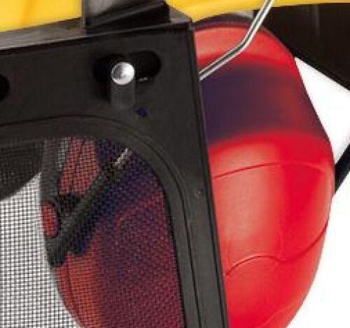 Resistente agli urti Silvicoltura Casco Head Harness costruzione Elmetto visiera P10