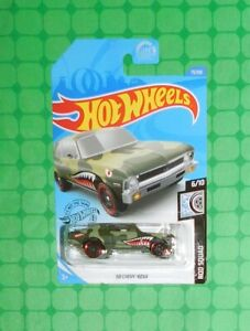 Details About 2020 Hot Wheels Rod Squad 73 68 Chevy Nova