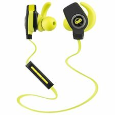 Monster iSport Wireless Bluetooth Super Slim In Ear Sports Headphones Green