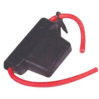 8 Awg Water Resistant Maxi Fuse Holder With Cover + Free 30 Amp Fuse