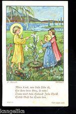 Andachtsbild---Mein Kind wie diese Lilie ist--P. Hirsch