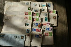 SOUTH-AFRICA-RSA-Late-60-039-s-Early-70-039-s-25-Envelops-with-Stamps