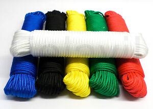 Polypropylenseil-Seil-Tau-Tauwerk-6-Farben-180-Varianten-Schnur-F101