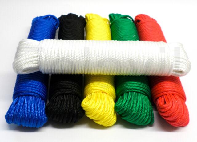 2-20mm Polypropylenseil  Leine Polypropylen Tau Reepschnur Seil Schnur Weiß