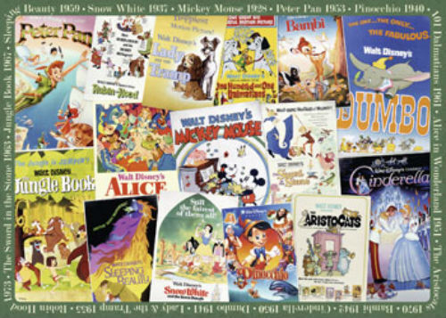 Ravensburger Disney Vintage Movie Posters Collectors Edition 1000 piece Puzzle