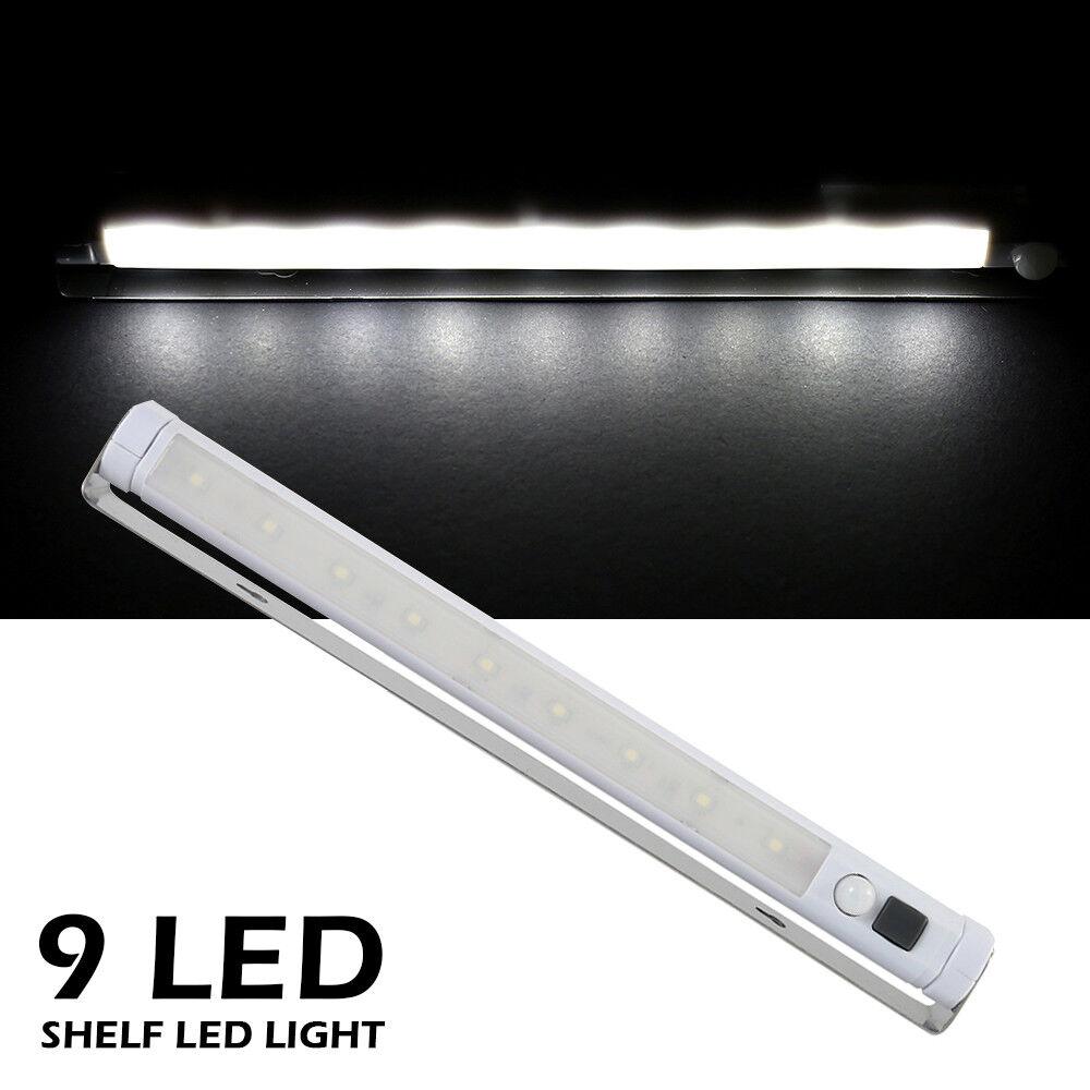 LED Kitchen Under Cabinet Cupboard Shelf Counter Strip Bar Light Lamps