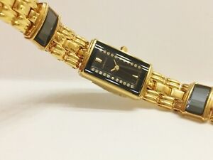 LASSALE-by-Seiko-CZP052-LADIES-22KT-GOLD-PLATED-NON-WORKING-WATCH-2E20-7409