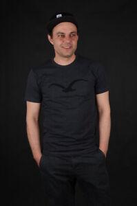 CLEPTOMANICX-MOWE-Heather-Black-Black-T-shirt