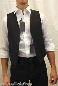 Bmeigo Panciotto Gilet Uomo vestibilit/à Slim Gilet Scollo a V Affari Casuali Gilet Strisce a Scacchi Top da Serimonia Formale