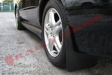 Rally Armor Basic Universal Mud Flaps Set/4, No HW Blk w/ Blk Logo MF12-BAS-BLK