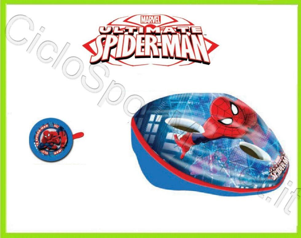 Helm+Fahrradklingel Spiderman Baby Kind   Bimba Ideal für Fahrrad