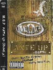 M.O.P. Ante Up (Remix) CASSETTE SINGLE HIP HOP THUG RAP BUSTA RHYMES Tephlon