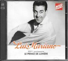 2 CD COMPIL 40 TITRES--LUIS MARIANO--XXVeme ANNIVERSAIRE / LE PRINCE DE LUMIERE