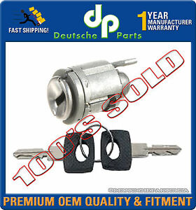 Mercedes W124 W126 Ignition Lock Cylinder Switch + Keys 1264600604