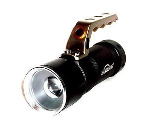Top Cree Led Zoom Taschenlampe Lampe Licht Sehr Hell Handstrahler