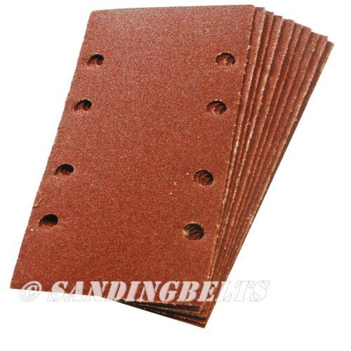 10 X SANDING 1//3 SHEET 93mm X 185mm HOOK /& LOOP 320 GRIT KLINGSPOR
