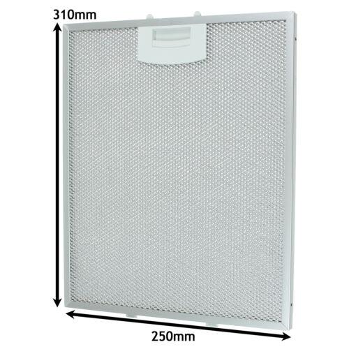 Aluminium Mesh Grease Filter for BOSCH NEFF SIEMENS Cooker Hood 250 x 310mm