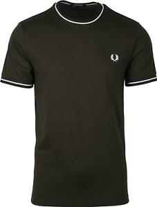 Fred-Perry-Twin-Tipped-T-Shirt-Hunting-Green