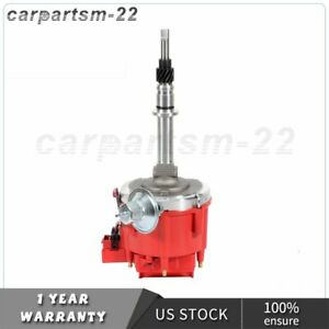 HEI Distributor with Red Cap fits 1956-1990 AMC JEEP INLINE 6 232 258 6Cylinder