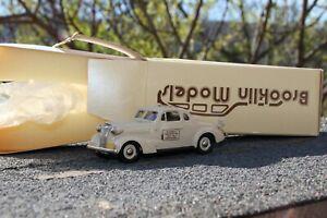 Brooklin Models BRK 4X Chevrolet coupe  (1937)  WEBER'S 1 of 70!! Rarissime