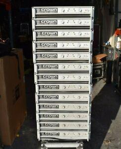 CROWN-MACRO-TECH-MA3600VZ-POWER-AMPLIFIER-LOT-OF-3