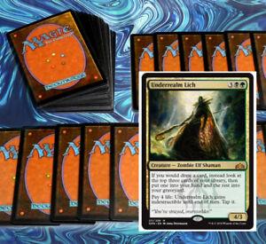 mtg-GREEN-BLACK-GOLGARI-DECK-Magic-the-Gathering-rares-60-card-standard-lich