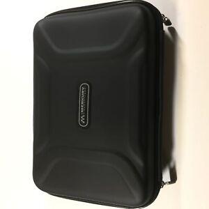 Merkury Innovations Black Zip Foam Protective Carry Case for Nintendo DS
