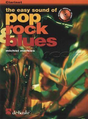 Vernederen Easy Sound Of Pop Rock & Blues For Clarinet Sheet Music Book With Cd Voor Een Soepele Overdracht