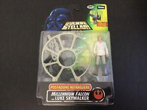 1996#kenner Star Wars Deluxe Luke Skywalker Millenium Falcon Figure Eu Box# Rst