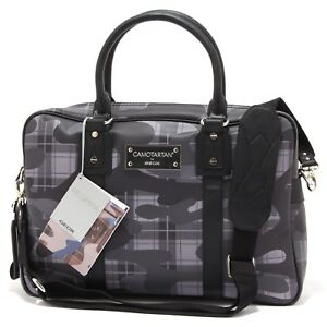 afb57533ac Details about 1351T borsa donna GEOX CAMOTARTAN tracolla staccabile bag  woman