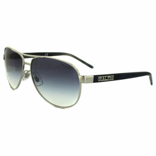Ralph by Ralph Lauren Sunglasses 4004 102//19 Silver /& Blue Grey Light Blue Gradi