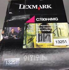Genuine Lexmark Magenta High Yield Toner Cartridge C748 C748H4MG NEW//OEM SEALED