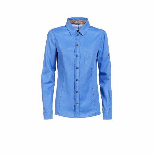 Alviero Donnavventura Colore Con 1a Martini Tasche Camicia Classe Azzurro XfzxnEw