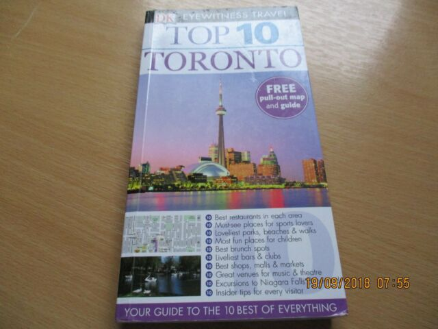DK Eyewitness Top 10 Travel Guide: Montreal & Quebec City  ONE OWNER
