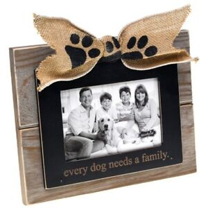 Dog Lovers Family Photo Picture Frame By Mud Pie Gifts For Dog