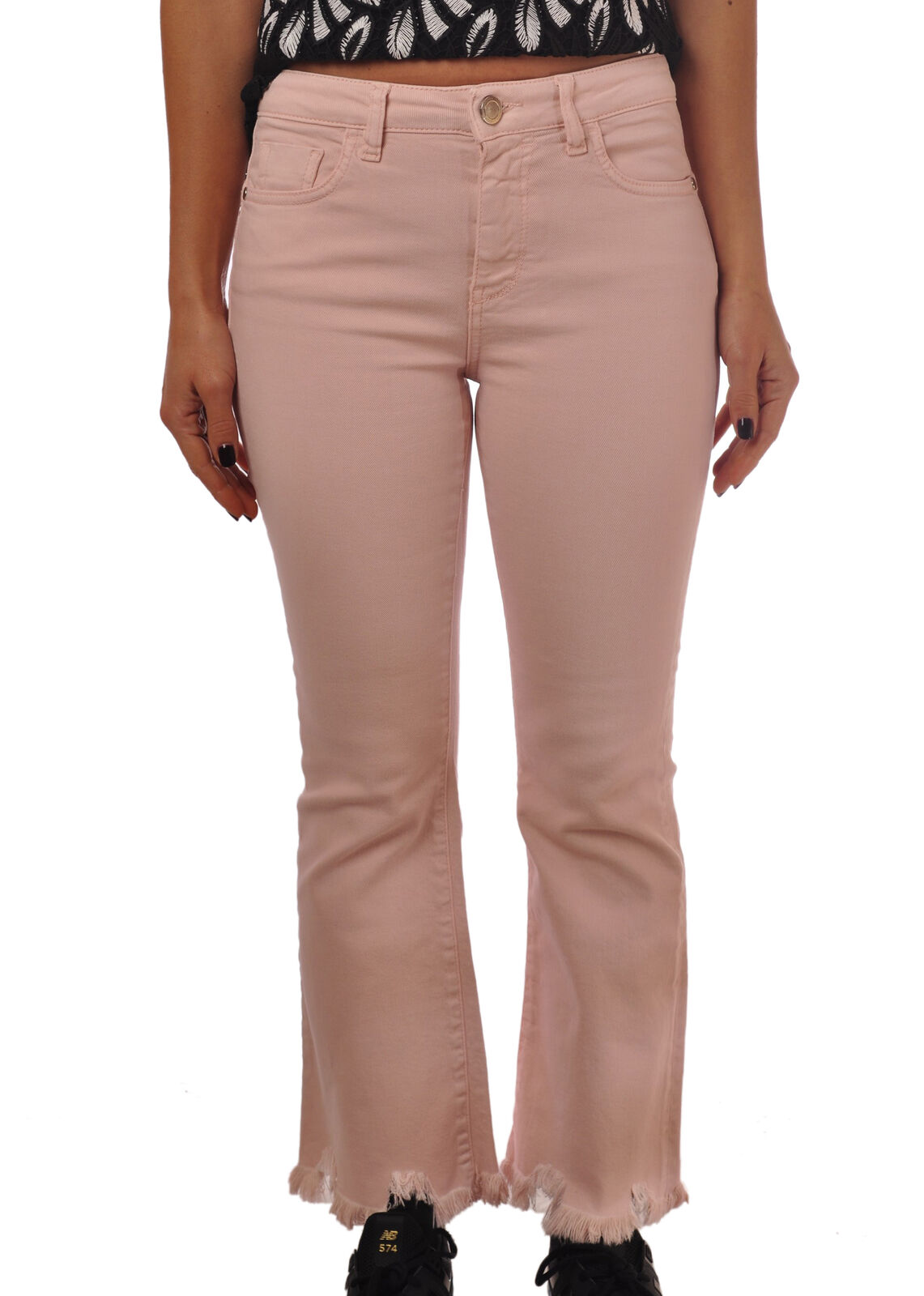 Pinko - Pants-Pants - Woman - Pink - 4771409G184356