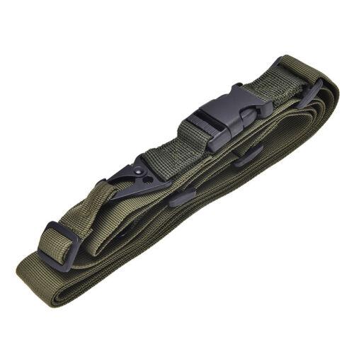 3 Point Rifle Sling Hunting Belt Gun Strap Outdoor Survival Swivels Strap F JBBJ