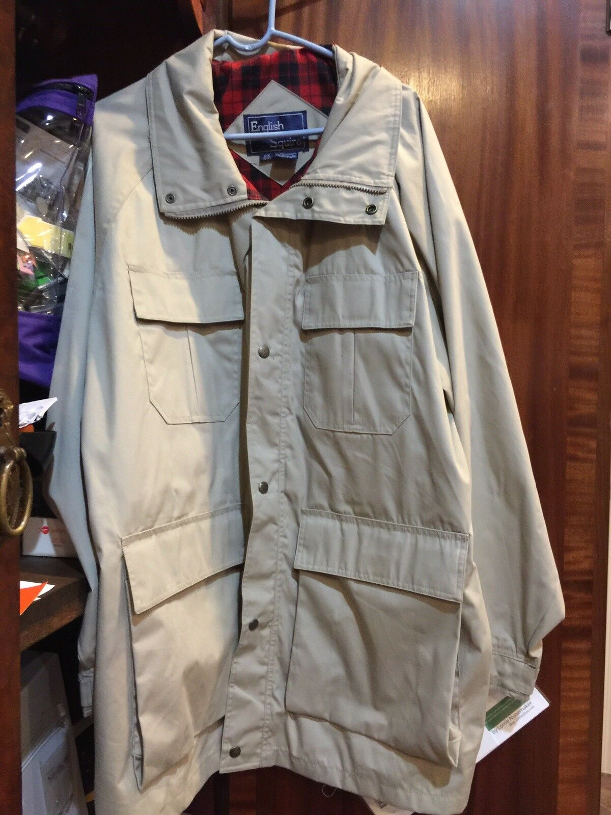 Men's Big&Tall 2x Coat detachable hood                    Great Christmas presen