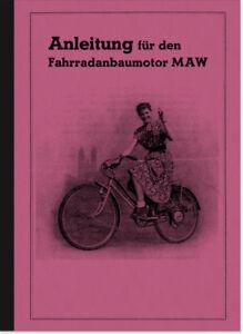 MAW-Motor-Fahrradmotor-Anbaumotor-Bedienungsanleitung-Betriebsanleitung-Handbuch