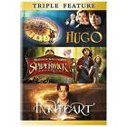 Hugo/The Spiderwick Chronicles/Inkheart (DVD, 2014, 3-Disc Set)