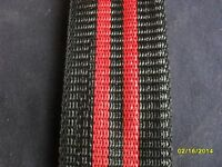 Aluminum Lawn Chair Webbing 39ft Red And Black, 2 1/4in Wide