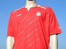 Bnwt 2005-2006 Reebok Liverpool FC europeo unsponsored Player Issue? SHIRT XL