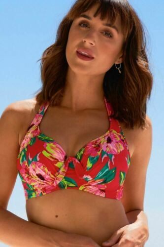 Strapless Padded Pour Moi Heatwave Underwired Bikini Top Brief or Fold Brief