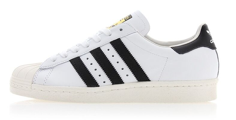 NEW ADIDAS ORIGINALS SUPERSTAR 80S (G61070) Training Shoes Casual Sneakers