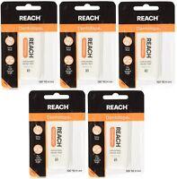 Reach Dentotape Waxed Ribbon Dental Floss, 100-yard Dispensers (pack Of 5) on sale