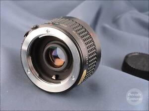 Minolta MD Tokina RMC 2x Converter inc Case - Excellent - 9672